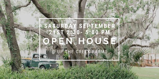 Up the Creek Farms Open House