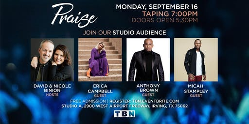 TX -Erica Campbell, Anthony Brown & Micah Stampley with David & Nicole Binion