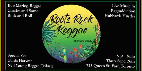 Roots Rock Reggae at Jasper Dandy tickets