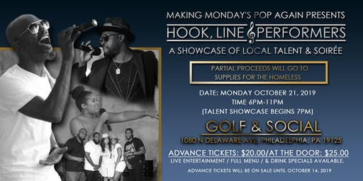 Hook, Line, & Performers! A Showcase Of Local Talent & Soiree