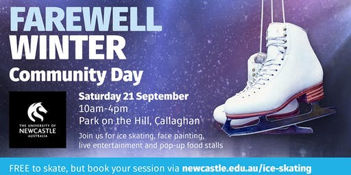 FREE Ice Skating Community Event - University of Newcastle