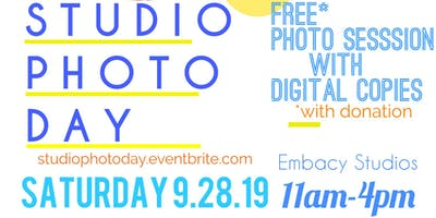 Studio Photo Day Fundraiser 9.28.19