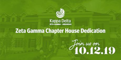 Zeta Gamma Chapter of Kappa Delta House Dedication  tickets
