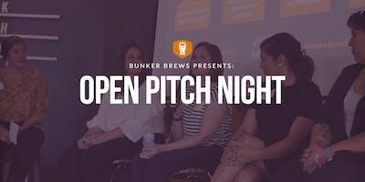 Bunker Brews San Antonio: Open Pitch Night