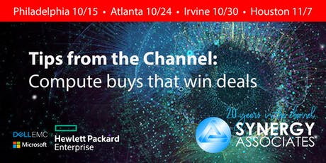 Tips from the Channel: HPE and Dell compute buys that win deals | Atlanta tickets