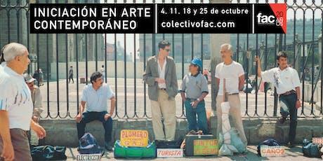 Iniciación en Arte Contemporáneo | Curso teórico de arte entradas