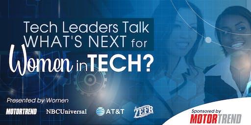 Tech Leaders Talk: What's Next for Women in Tech?