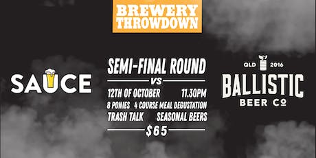 Brewery Throwdown Round 5 SEMI-FINALS tickets