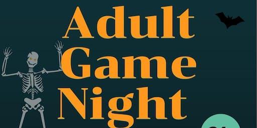 Adult Halloween Game Night Extravaganza!!!