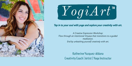 YogiArt: Yoga & Artistic Expression Workshop tickets