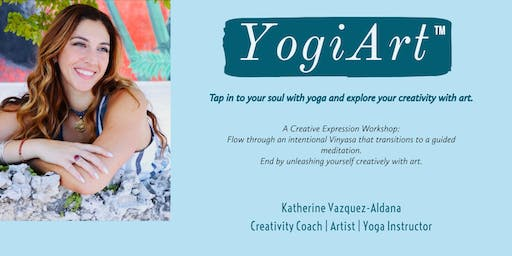 YogiArt: Yoga & Artistic Expression Workshop