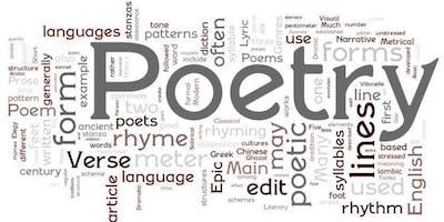 Free Poetry for Beginners workshop!
