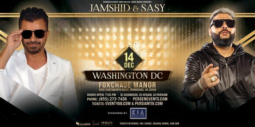 Jamshid and Sasy Live - Washington DC