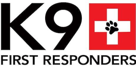 K9 First Responders Football Fundraiser tickets