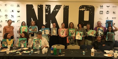 Paint your Pet night with NINA LUTZ