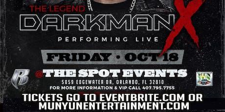 The Legend DMX tickets