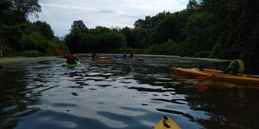 Genesee RiverWatch Canoeing Happy Hour for Educators