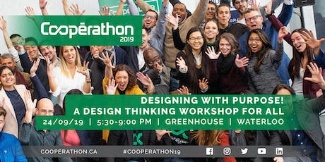 Cooperathon - Designing with purpose! A design thinking workshop for all tickets