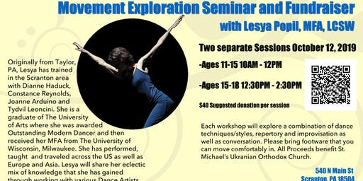 Movement Exploration with Lesya Popil, MFA, LCSW