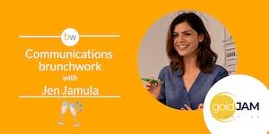 Communications brunchwork w/ GoldJam Creative
