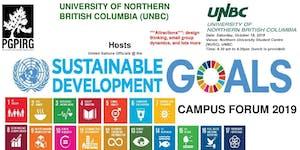United Nations SDGs Training Forum - UNBC, Prince...