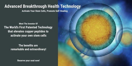 LifeWave Live: Find out How to Activate the Stem Cells you already have! tickets