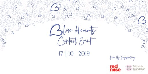 Blue Hearts Cocktail Event