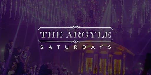 Till Dawn Group Presents: The Argyle   Saturdays