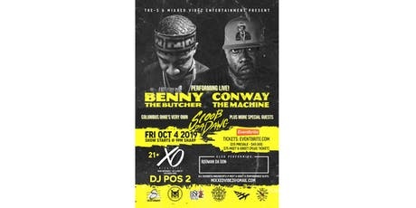 BENNY THE BUTCHER & CONWAY THE MACHINE/SCOOB DA DAWG + SPECIAL GUESTS! tickets