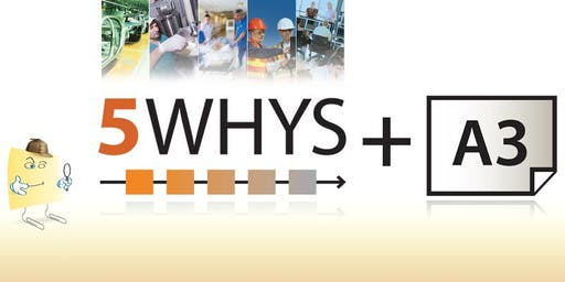 QLD RCARt | 5Why + A3 1 Day Workshop