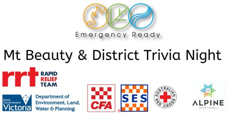 MOUNT BEAUTY EMERGENCY READY COMMUNITY TRIVIA NIGHT tickets