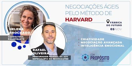 NEGOCIAÇÕES ÁGEIS PELO MÉTODO DE HARVARD ingressos