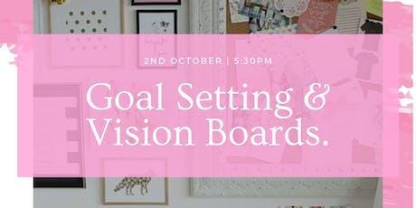 Goal Setting & Vision Board Workshop tickets