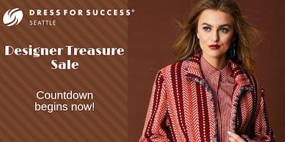 Designer Treasure Sale benefiting Dress For Success Seattle - Restock Day!