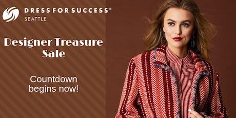 Designer Treasure Sale benefiting Dress For Success Seattle - Restock Day! tickets