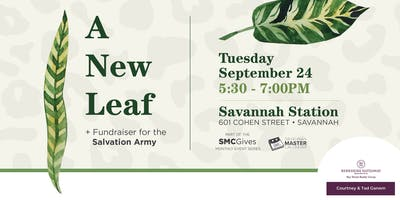 A New Leaf: A Networking Social & Fundraiser for Salvation Army