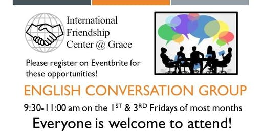 English Conversation Group: Topic - Fall Cleaning