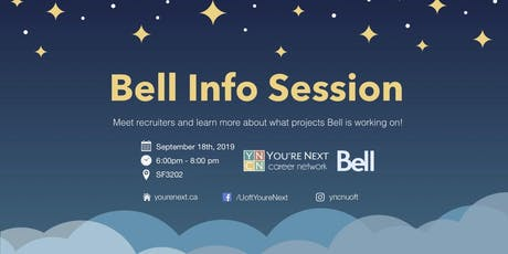 Bell Info Session tickets