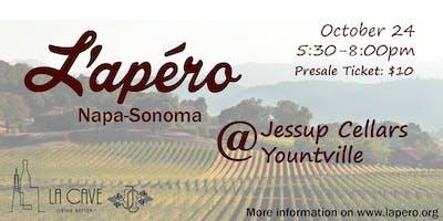 L'Apero Napa-Sonoma @ Jessup Cellars