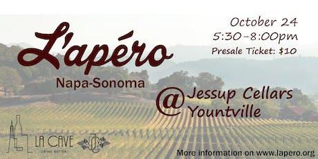 L'Apero Napa-Sonoma @ Jessup Cellars tickets