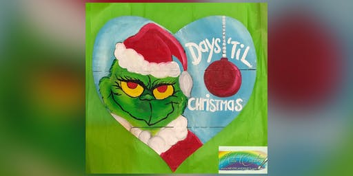 Grinch: La Plata, Greene Turtle with Artist Katie Detrich!