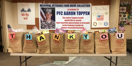 "11th Annual Veterans' Food Drive in Memory of William ""Tex"" McAleer tickets"