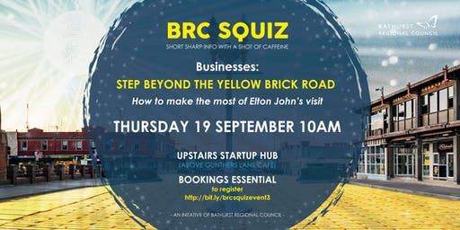 BRC Squiz - Businesses: How to Make the Most of Elton John's Visit