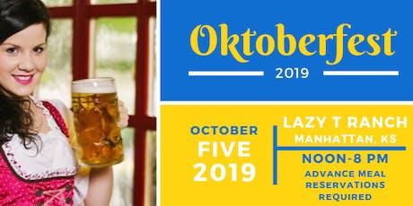 5th Annual Oktoberfest tickets