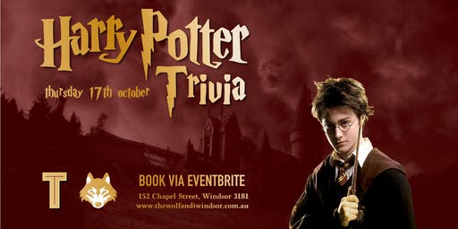 Harry Potter Trivia at the Wolf