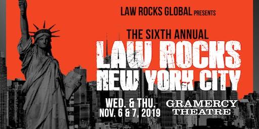 6th Annual Law Rocks New York City