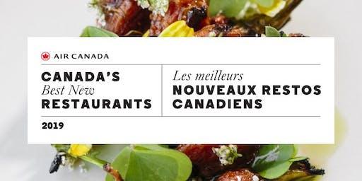 Canada's Best New Restaurants 2019 |        Les meilleurs nouveaux restos canadiens 2019