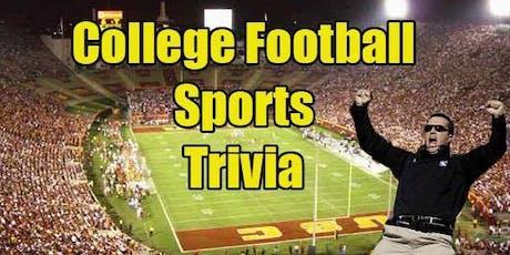 College Football Trivia tickets
