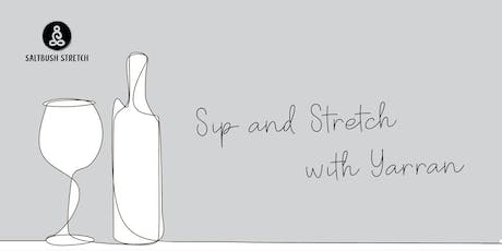 Sip and Stretch October tickets
