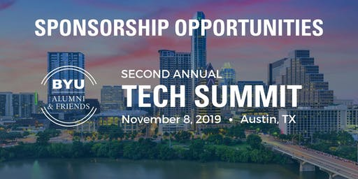 Austin Tech Summit 2019 Sponsorships